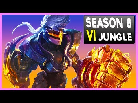 How to Play  Vi Jungle in Season 8 - League of Legends Gameplay