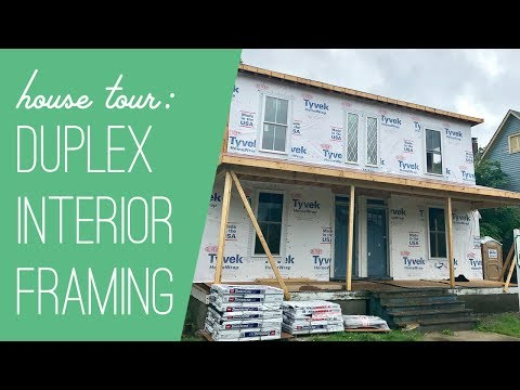 Duplex Construction Tour: Framing Is Done!