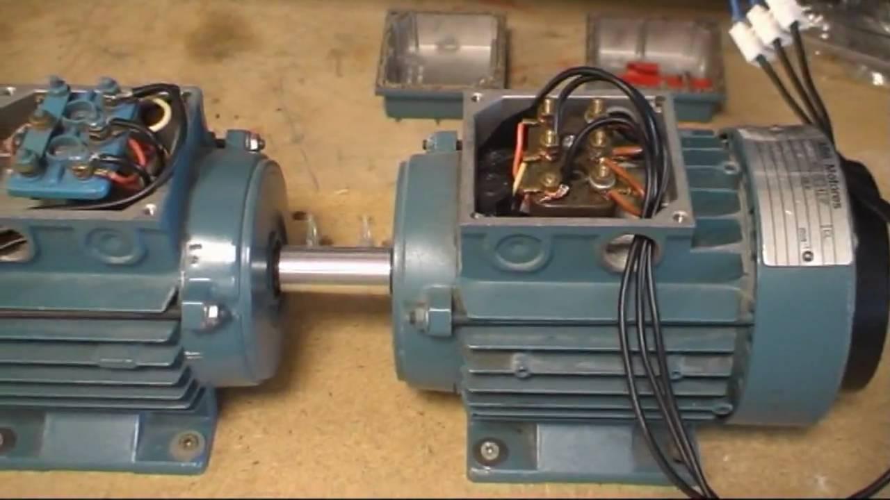 Generador asincrono - Generador de luz ...