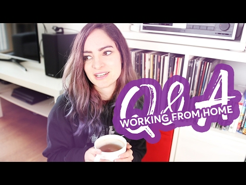 Working a remote job from home – Q&A