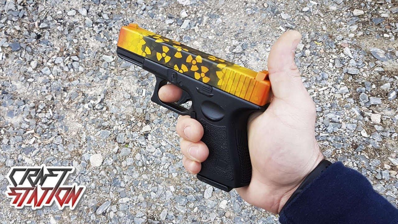 Как покрасить Glock-18 в скине Реактор   CS:GO DIY