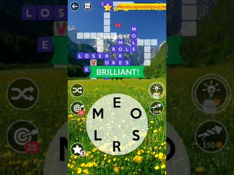 Wordscapes Daily Puzzle May 30 2020 Answers
