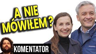 """Jak Mówiłem: SLD Wchłania Wiosnę a Spurek """"Olewa"""" Biedronia - Analiza Komentator Polityka PL"""