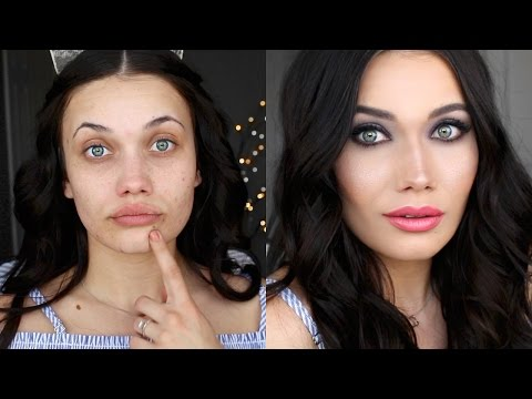 trying-cheap-makeup-from-marshalls- -full-face-tutorial