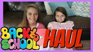 BACK TO SCHOOL CLOTHES | HAUL | Emma & Ellie