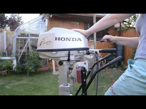 5 HP Honda Four Stroke Outboard Engine