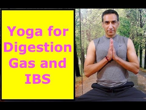 simple yoga for digestion gas and ibs  youtube