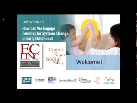 Live Webinar! How Can We Engage Families for Systems Change in Early Childhood