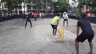 box cricket Sagar Niwate vs labo {Rahul}  at airoli |PB stars|