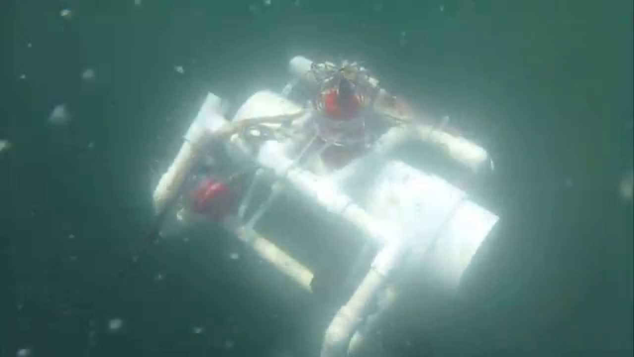 Homemade Underwater Robot ROV - YouTube