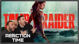 TOMB RAIDER Official Trailer #1 - Reaction Time!
