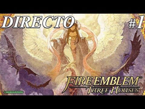 Fire Emblem Three Houses - Directo #1 Español - Difícil - Impresiones - Primeros Pasos - Switch