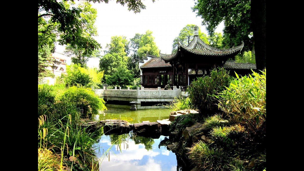 Places To See In Frankfurt Germany Chinese Garden Youtube