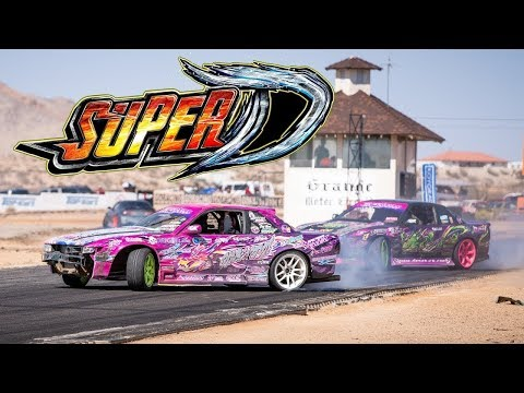Super D adventure with Nakamura and Lone Star Drift friends!