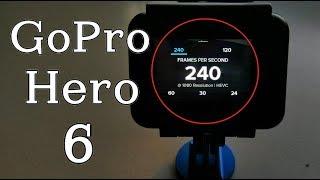 GoPro Hero 6 Slow Motion Tutorial & Settings