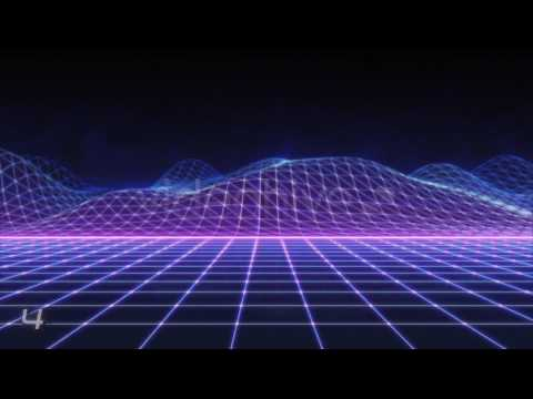 80s Retro Futurism Background Pack vol.2 4K Motion Graphics - YouTube