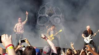 Atreyu - The Time Is Now Live @ Rockstar Disrupt Fest Toronto 2019