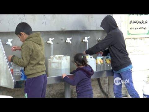 سوء الإدارة يفاقم أزمة تلوث وشح المياه في غزة  - 18:55-2019 / 2 / 18