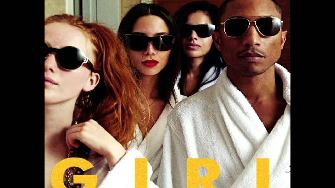 Happy Song by Pharrell Williams - Everybody Loves Life |Pharrell Happy Girl