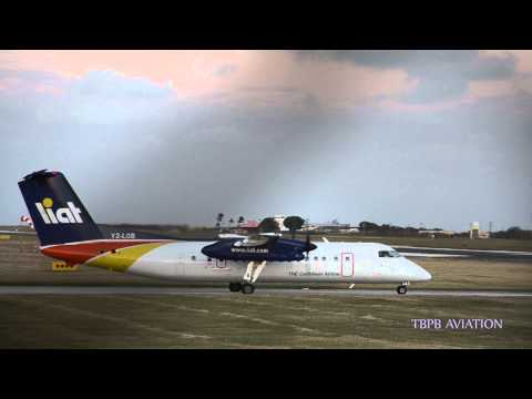 Liat Dash 8 operating in/out Barbados