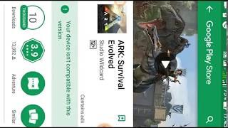 How to download ark survival evolved Apk mod hindi | Ark Survival evolved launch Android play store