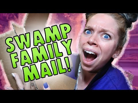 Swamp Family MAIL!- 90'S Nostalgia MYSTERY BOXES