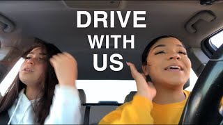 DRIVE W ME AND MY BESTFRIENDS