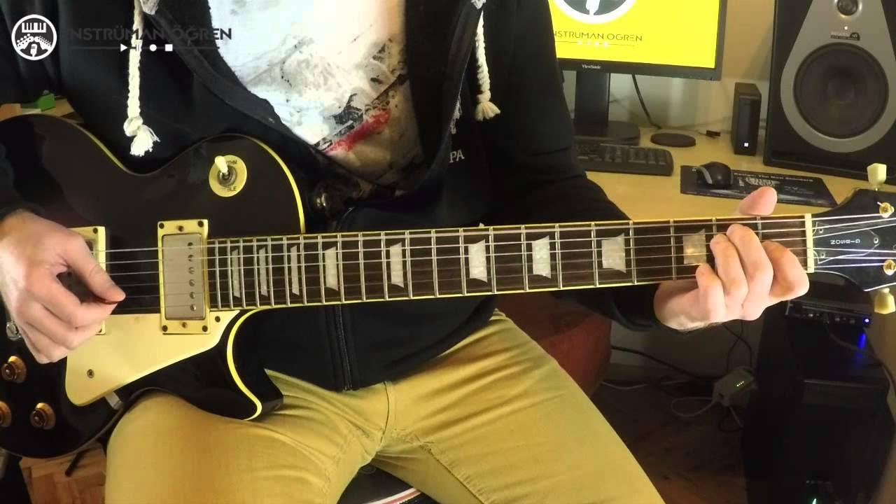 Gitar Dersi: 16-Gitarda Temel arpej egzersizleri