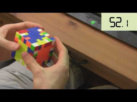 1:56.61 7x7 Single - Unofficial World Record