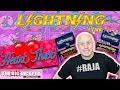 Bonus JACKPOT! ⚡Lightning Link Heart Throb Slot Machine | The Big Jackpot