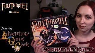 Full Throttle Remastered (PC) - Retro Game Review ft. Adventure Game Geek