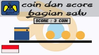 [Tutorial Blender Game Engine] membuat coin dan score bagian 1(No Script/indonesia)