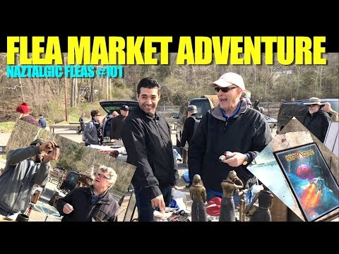 FLEA MARKET ADVENTURE #101 Selling & Buying (Antiques, Video Games, Vintage Toys)