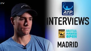 Isner Looks To Build On Miami Success In Madrid 2018