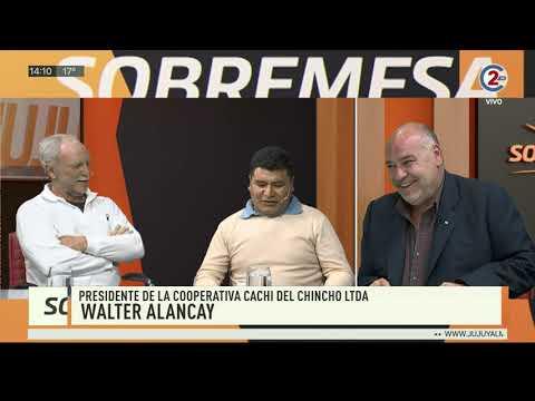 altText(Sobremesa: Walter Alancay y Adrián García del Rio)}