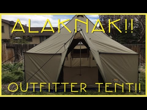 Alaknak outfitters tent review..
