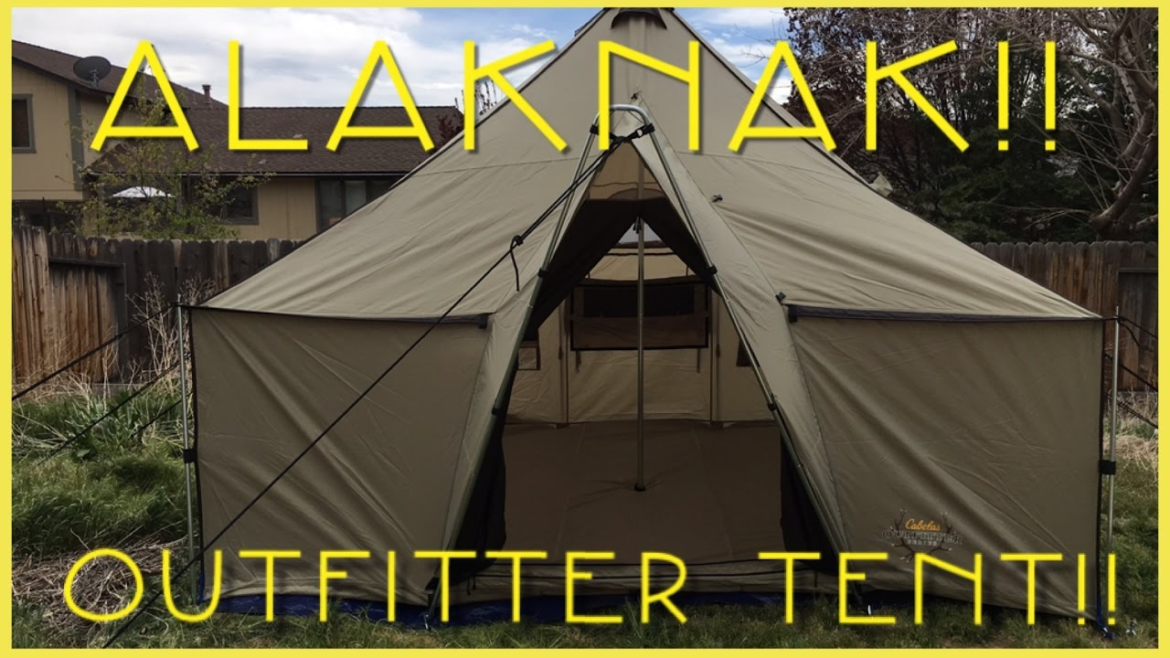 Alaknak outfitters tent review.  sc 1 st  YouTube & Alaknak outfitters tent review.. - YouTube