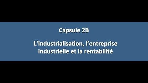 Capsule 3 - La mondialisation et la délocalisation