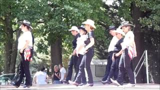 Demonstration de Country old dance & Francheleins le 12 juillet 2015