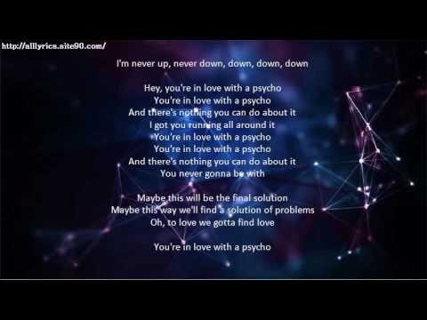 you re in love with a psycho lyrics