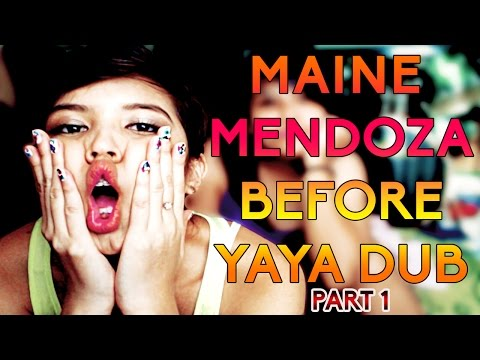 THE LIFE OF MAINE MENDOZA BEFORE YAYA DUB PT. 1