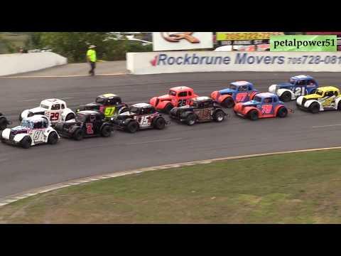 Sunset Speedway, Legends Nationals,first A Main August 18, 2019