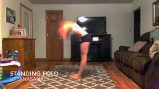 Uttanasana Standing Forward Bend Pose Yoga