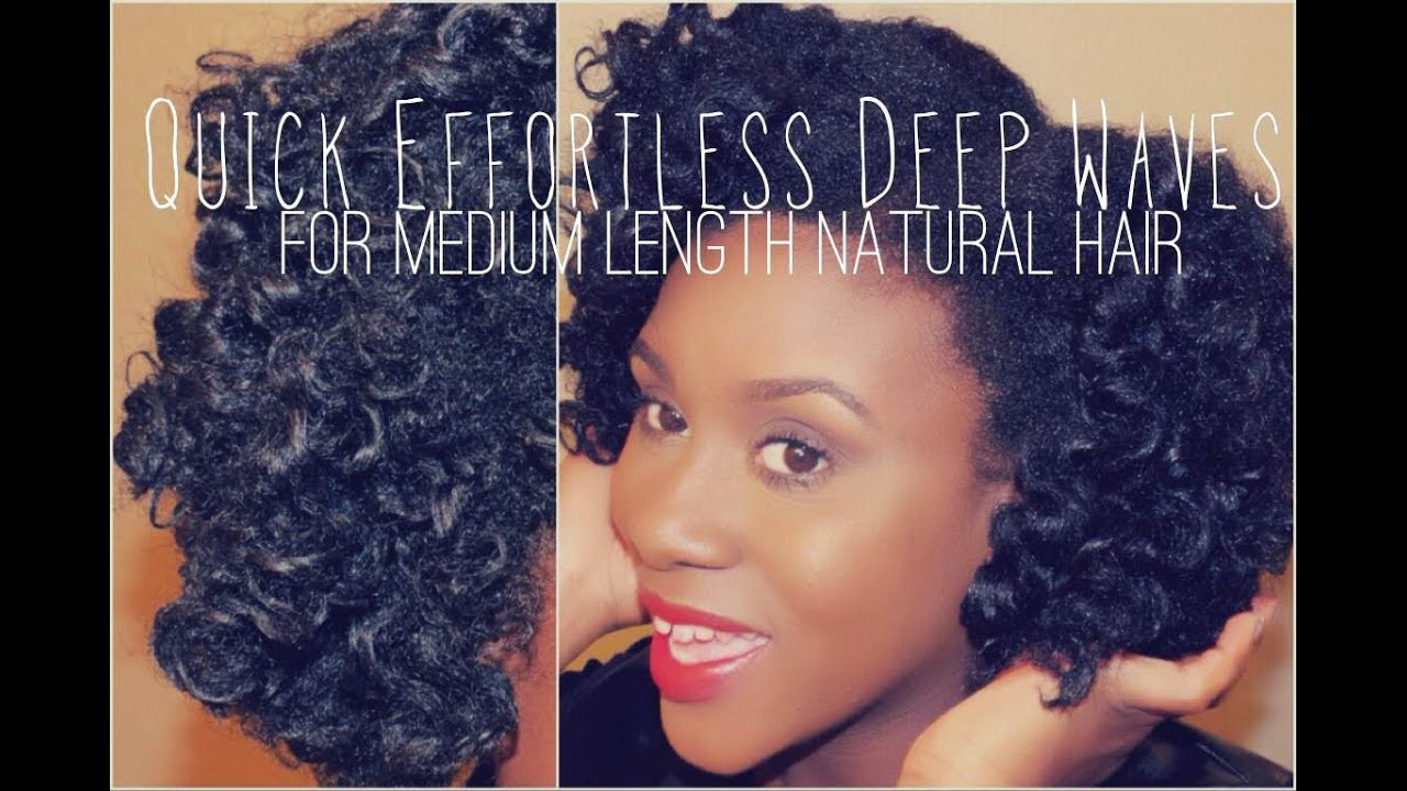 Quick Effortless Deep Waves Tutorial For Medium Length