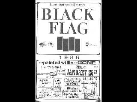 Black Flag - Live @ Cameo Theatre, Miami Beach, FL, 1/25/86