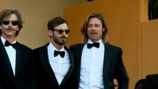 """Cannes: tapis rouge pour Brad Pitt et """"Cogan-La mort en douce"""""""