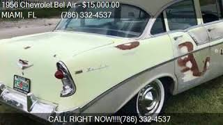 1956 Chevrolet Bel Air  for sale in MIAMI, FL 33142 at A and