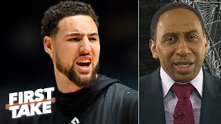 Klay Thompson's All-NBA snub is a 'disgrace' - Stephen A. | First Take thumbnail