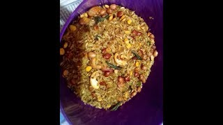 Mummy's Cooking - Poha Chivda / Aval Mixture in Tamil