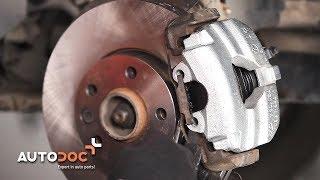 How to change front brake caliper VOLKSWAGEN T5 TUTORIAL | AUTODOC
